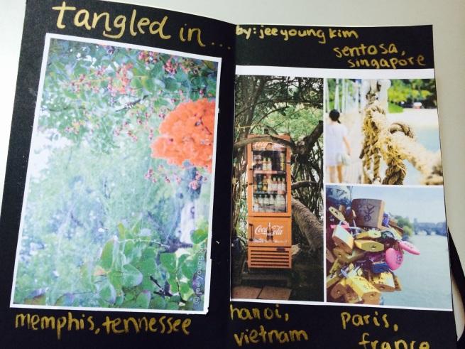 tangled sketchbook