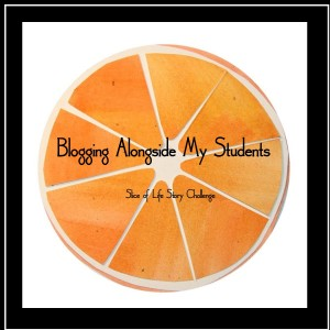 blogging alongside my students